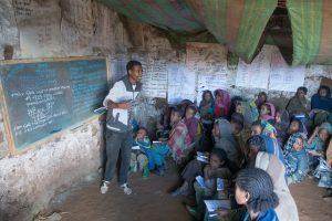 Ecole de Sona, montagnes du Simien Ethiopie