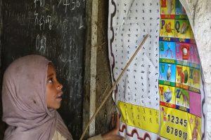 éducation des enfants au Simien