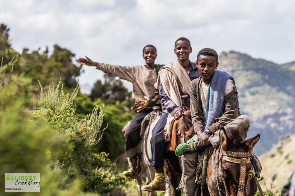 Simien Etiopía imagen libre de derechos