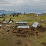 Sona, Simien Ethiopie construction école