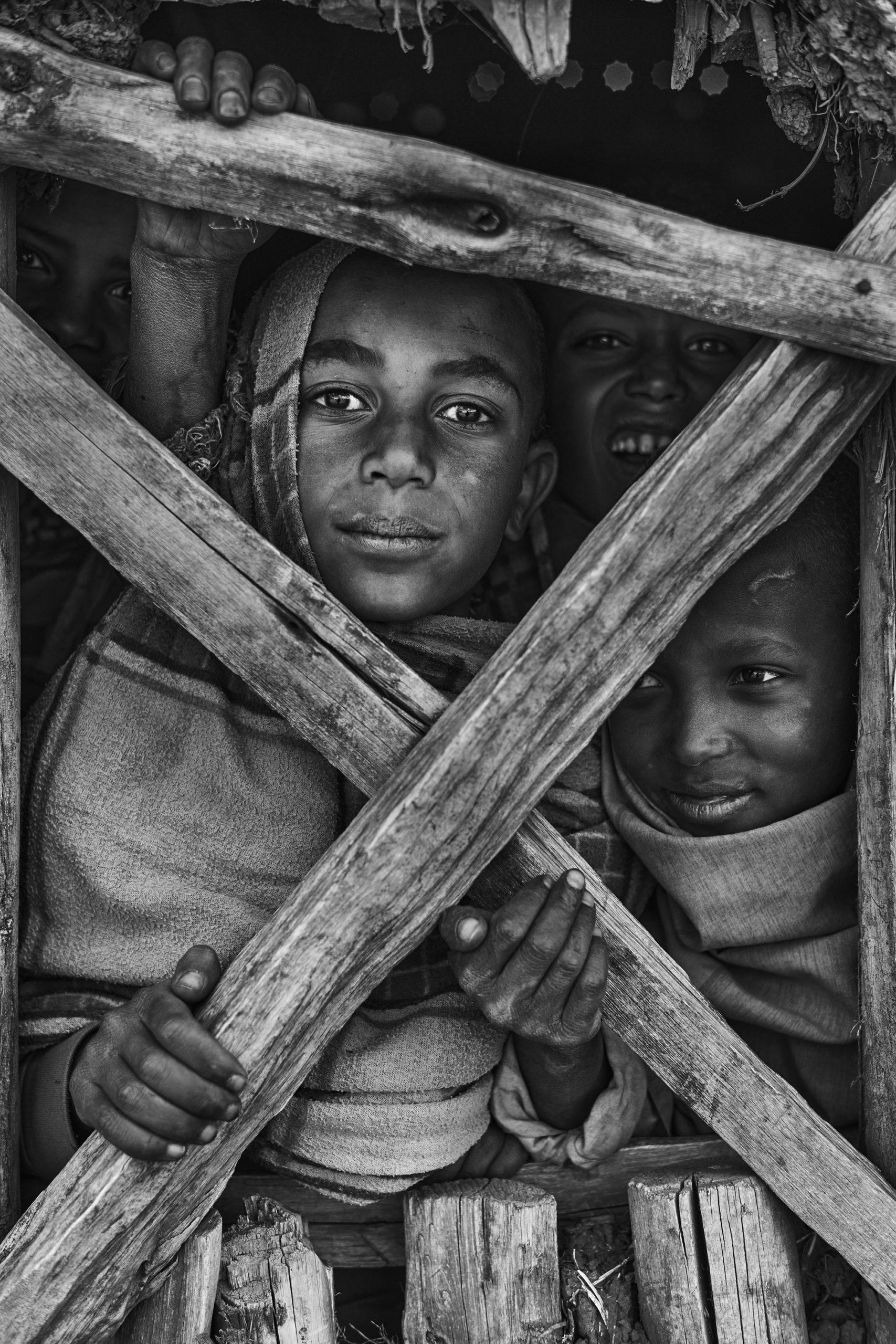 Children of the Simien in Ethiopia