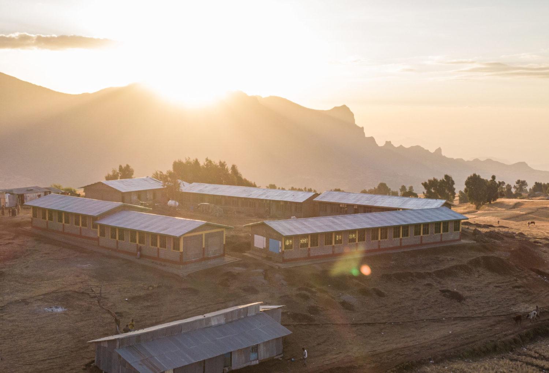Äthiopien Simien Schule von Sona Children in the Cloud