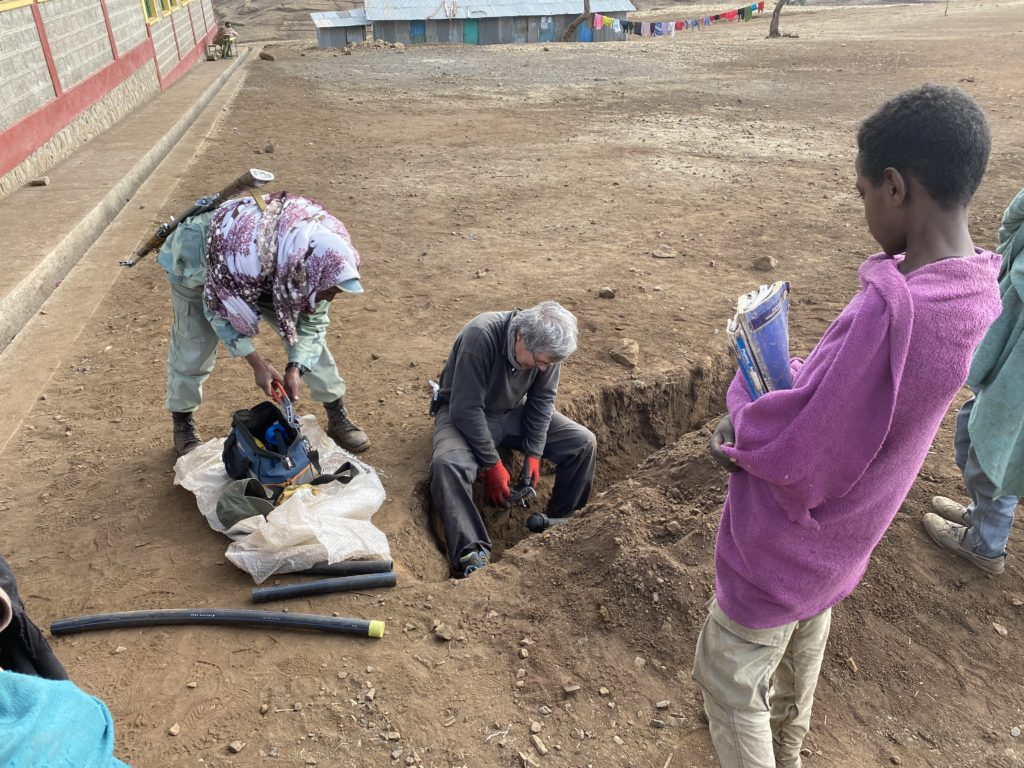 fuente de agua etiopía